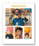Shutterfly Halloween Collage